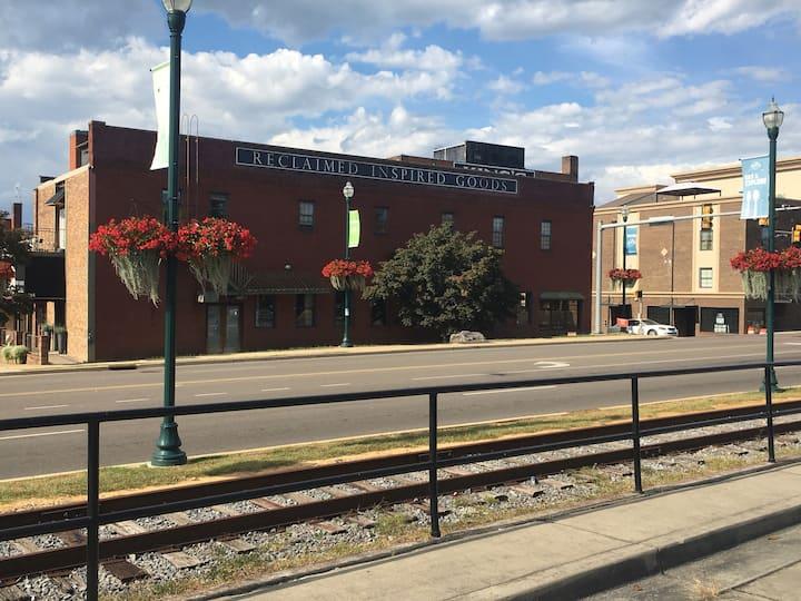 Johnson city downtown loft
