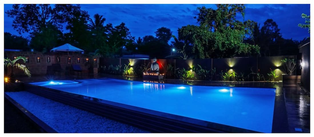 Brand New Swimming Pool with Kids pool And Jacuzzi
