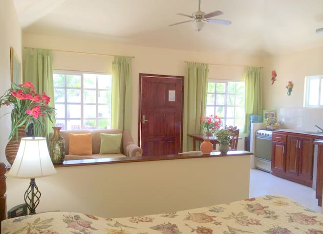 Orchid interior, fully furnished, with even Free-weekly housekeeping, bicycles etc. as of 2017