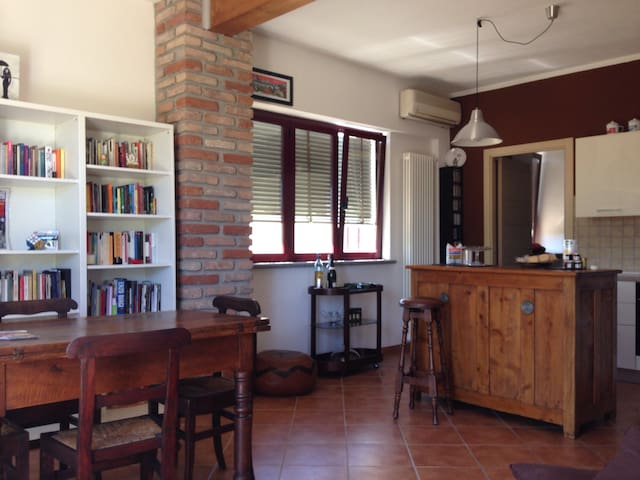 Beautiful apartment with garden - San Giuliano Nuovo - House