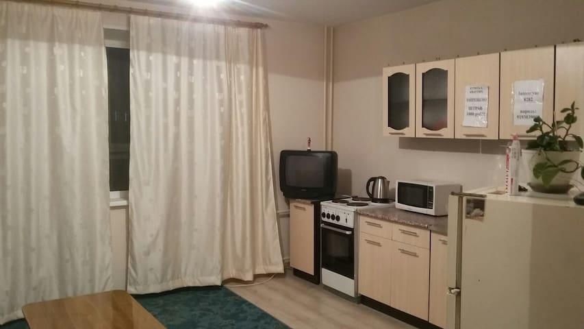 Чистая, уютная квартира посуточно в Челяб. с WI FI - Chelyabinsk Oblast - Huoneisto
