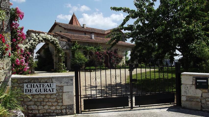 Chateau de Gurat - Coin Fleuri