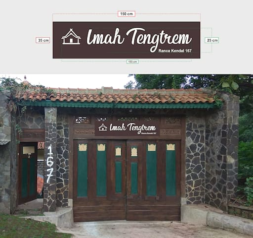 Imah Tentrem -by Bhuvana Laksmana, up to 30 person