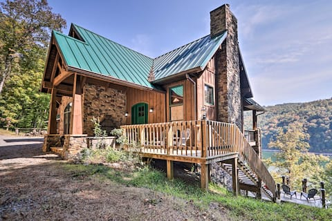 NEW! Expansive Norris Lake Cabin w/ Decks & Dock!