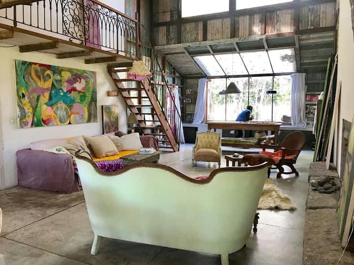Casa Taller de artistas  (PILAR, Buenos Aires)