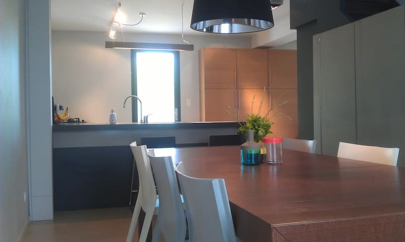 Maison moderne en campagne - Saint-Clair-du-Rhône - Apartment
