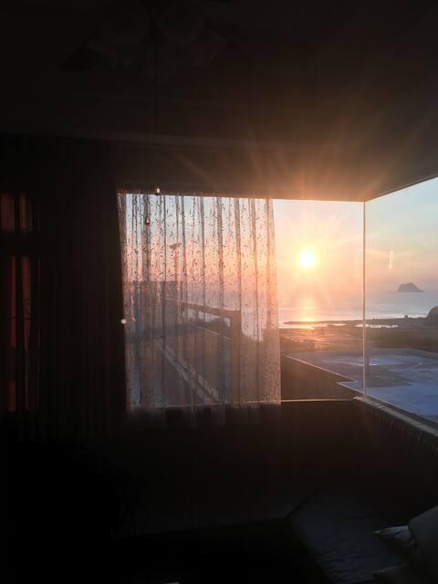 雙人無敵海景房 超大使用空間 Sea view-double room