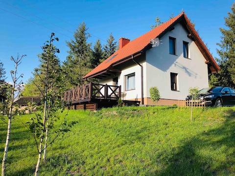 Dom na Mazurach, magiczne miejsce w Piecach