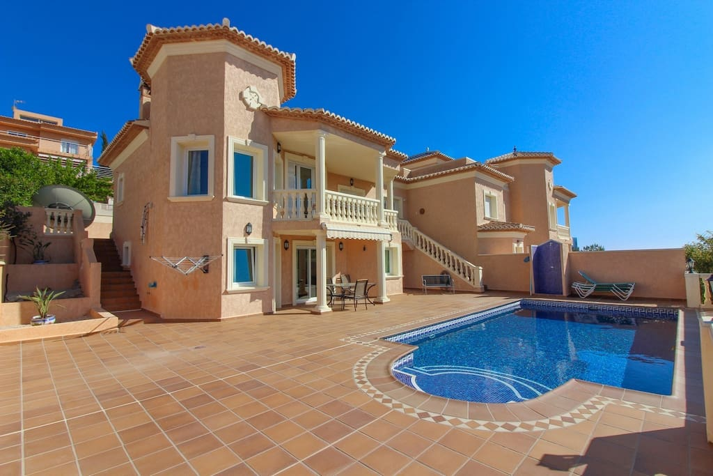 villa en calpe con piscina privada casanova villas for