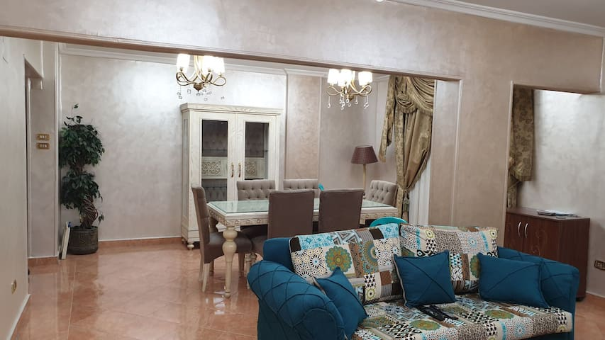 Fully luxury furnished apartment in Sheraton Helio