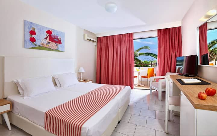 Double Room with SEAVIEW & BREAKFAST - Stalis