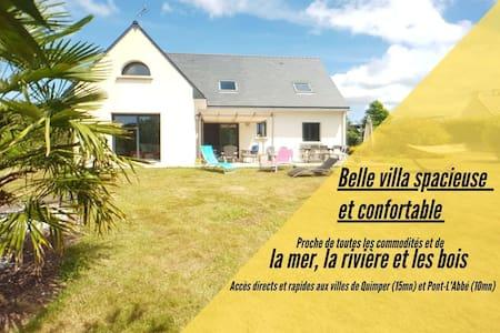 ⭐ Belle Villa entre Mer, Rivière et Bois ⭐