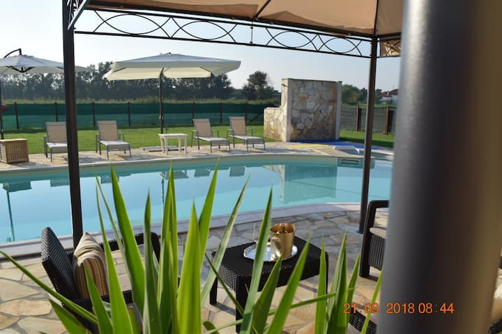 "NEW ""VILLA POSTA VECCHIA"" GARDEN & POOL EXCLUSIVE"