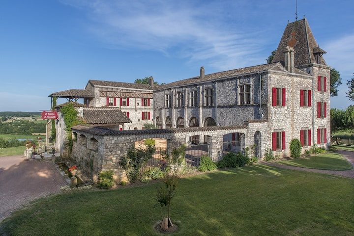 ⭐Château de Scandaillac 10 Bedroom 13th Cen Castle