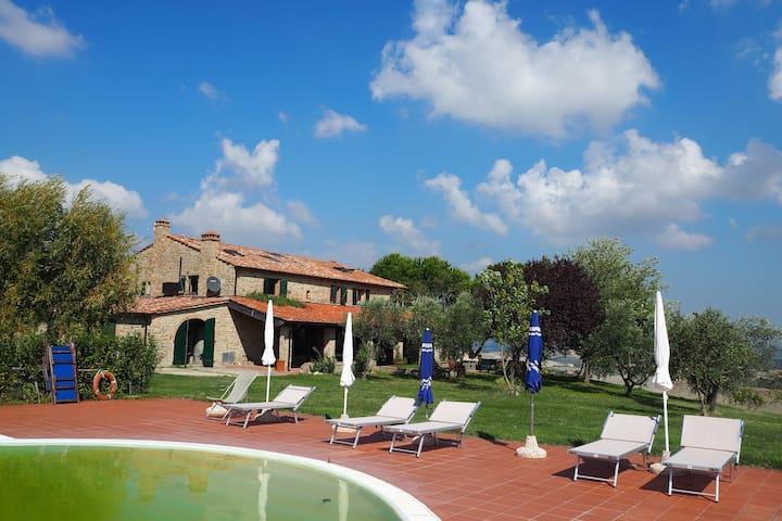 Podere San Giovanni - La Fornace - Casa de camp
