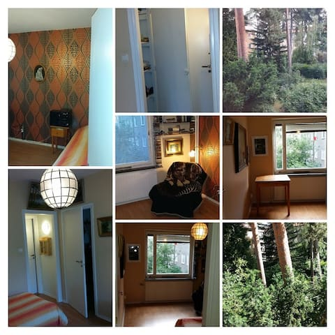 Apartement near nature reserve and city - Stockholm - Leilighet