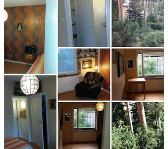 Apartement near nature reserve and city - Stockholm - Wohnung