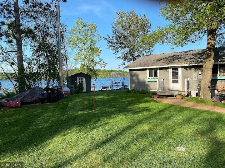 Waterfront Cabin on Beautiful Lake Shamineau