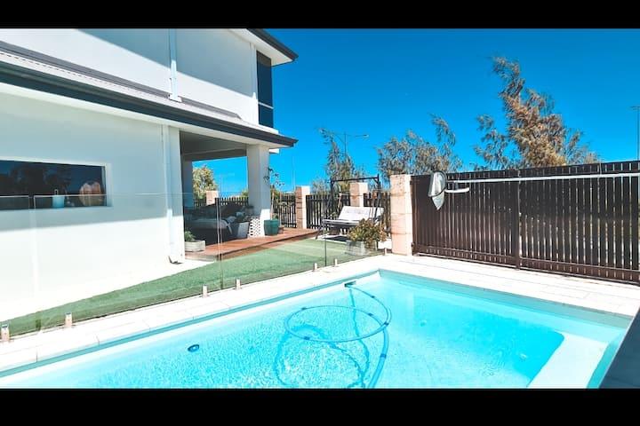 Pantropical Paradise ~Ocean side Villa~ Pool&Spa ~