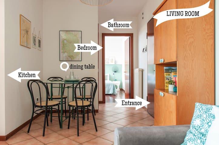 Best Apartment in Perugia - Near Train Station