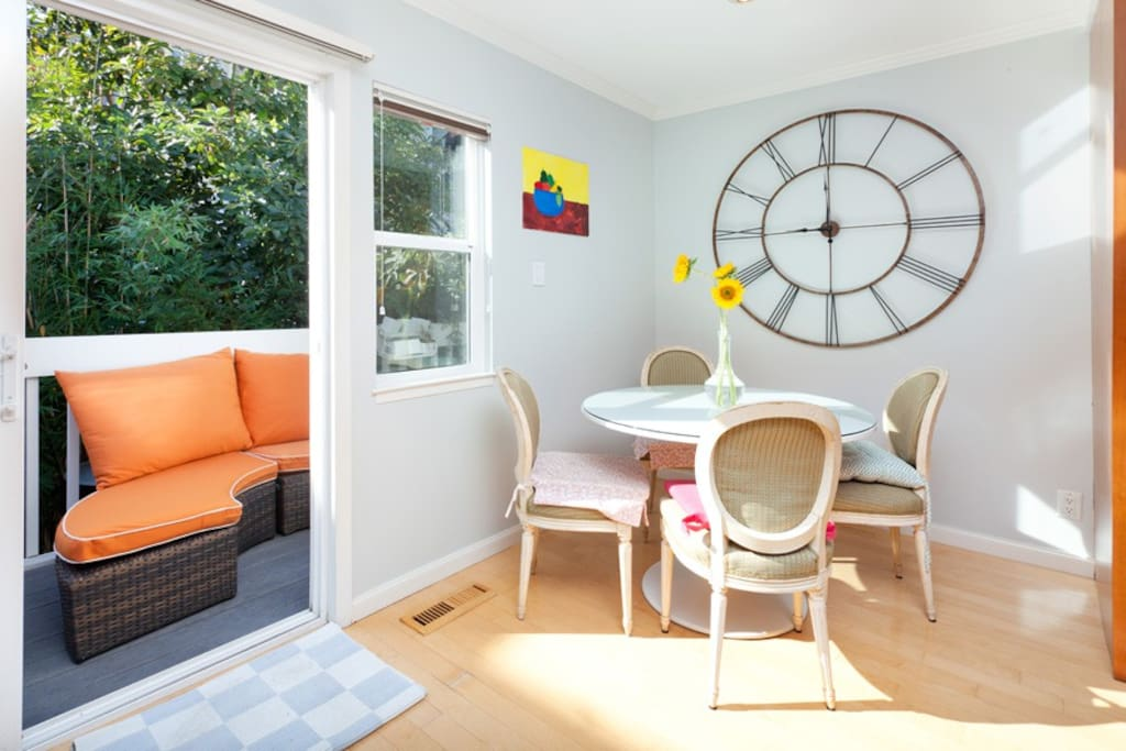 Sunny 3br With Garage On Sf S Liveliest Block Houses For