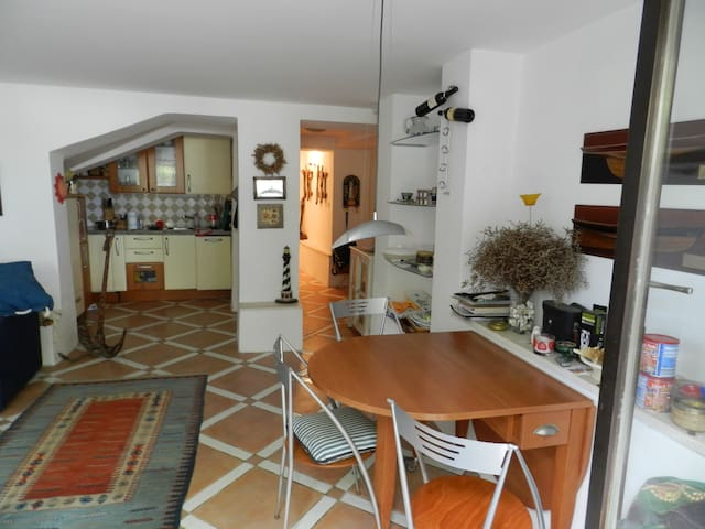 Apartment front Beach Location Strunjan - Salinera