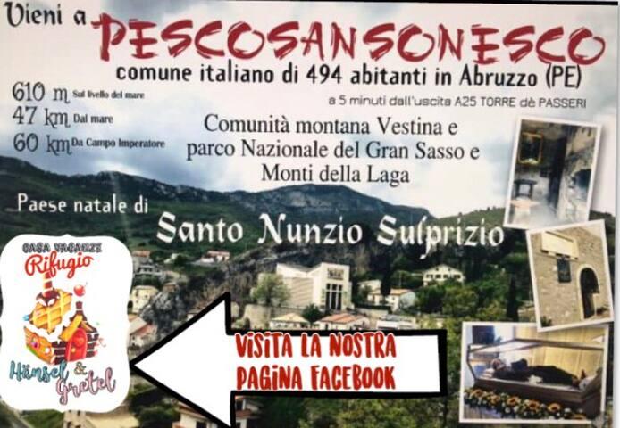 Rifugio Hänsel & Gretel  Casa Vacanze Abruzzo