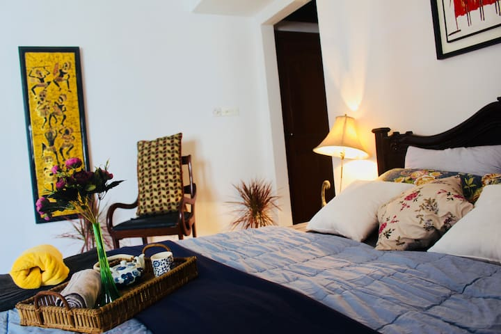 ✽ Luxury En-suite in Serviced Apt+AC+WiFi+Brkfast