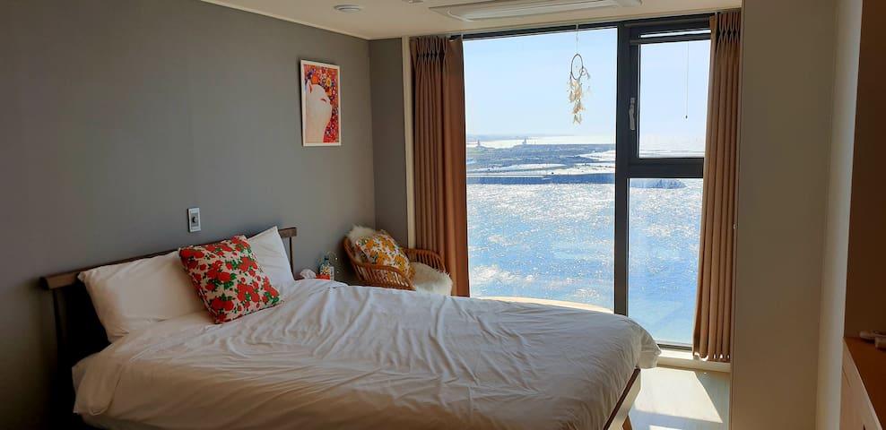 바다stay (BaDa stay) -Sea View (제주공항10분,이호테우해변, 도두항)