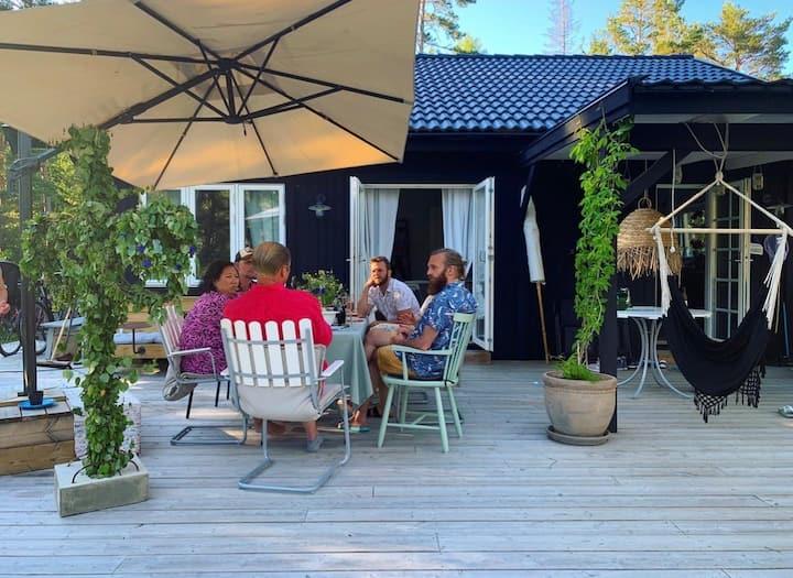 Sommarhus på Singö, i norra Roslagen.
