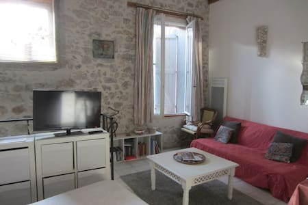 private gound floor studio - Lagrasse - Flat