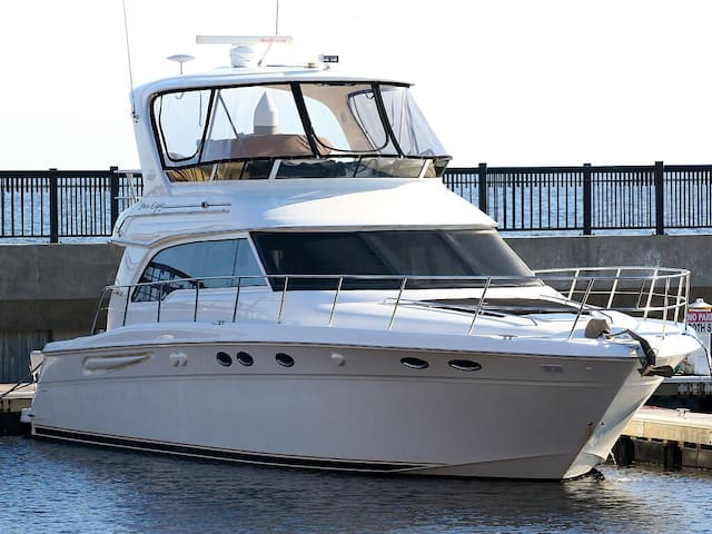 """""""One More Day """" a 52ft luxury yacht"""