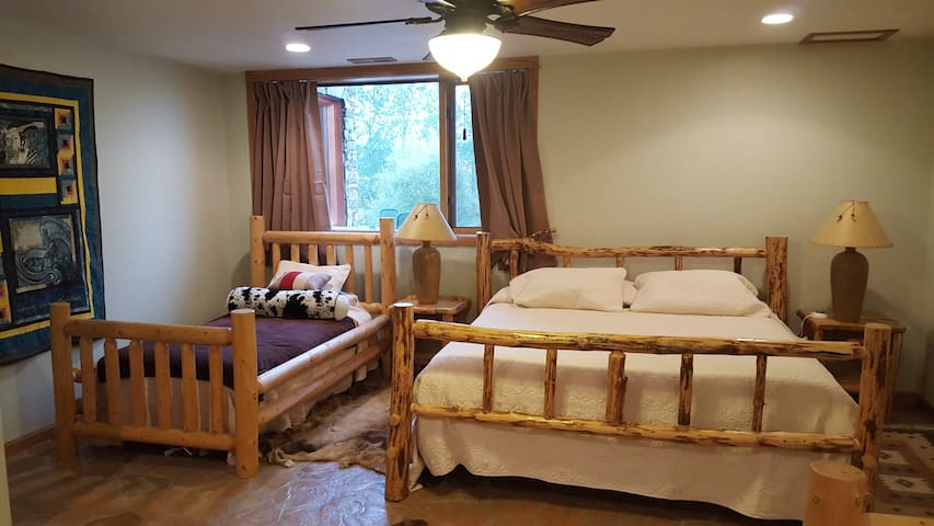 Basement Master suite