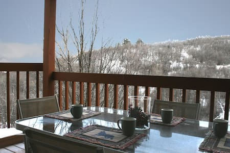 Private House in Woods! Best Views! Ski & Relax! - Eden - Huis