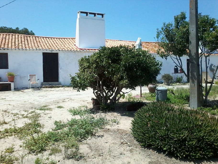Monte dos cantos t2 alentejo casa da ponta villas - La maison monte na comporta au portugal ...