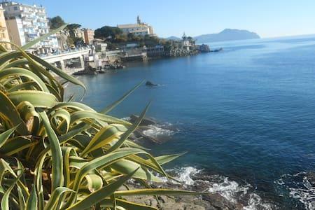 Marinos house next to the see - Genova