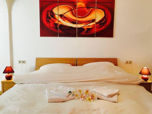 Auberge du Chateau - Doppelzimmer 2 - Vianden - Szoba reggelivel