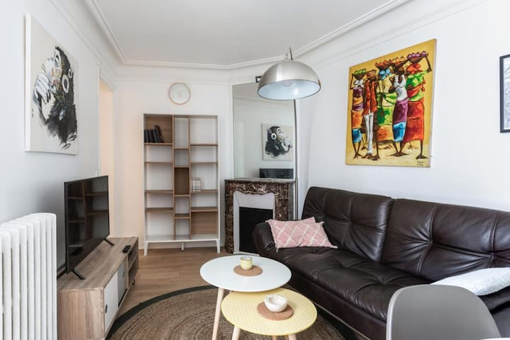 Cosy and charming flat close to Eiffel Tower