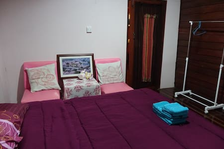 HavenRoom#A-opposite Lomsak Museum - Lomsak - House