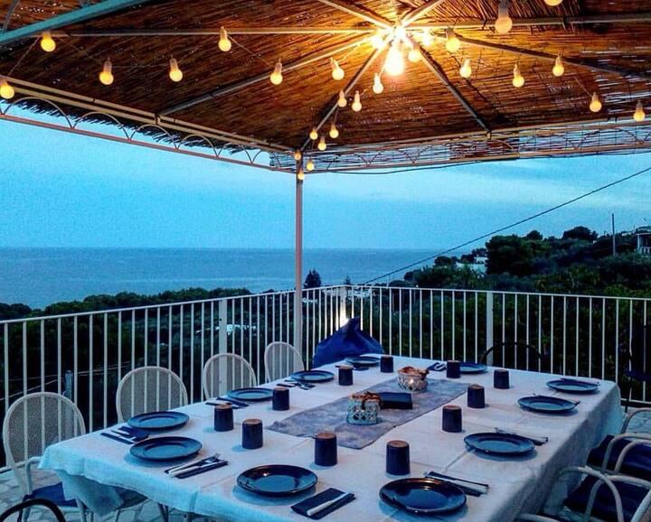 Villa al mare con splendida vista