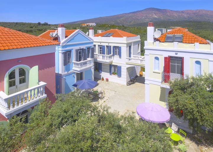 Villa Ourania, 3 bedrooms, Limenaria, Thassos