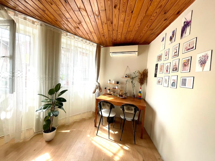 Cozy 1+1 apartment in the center of Istanbul.