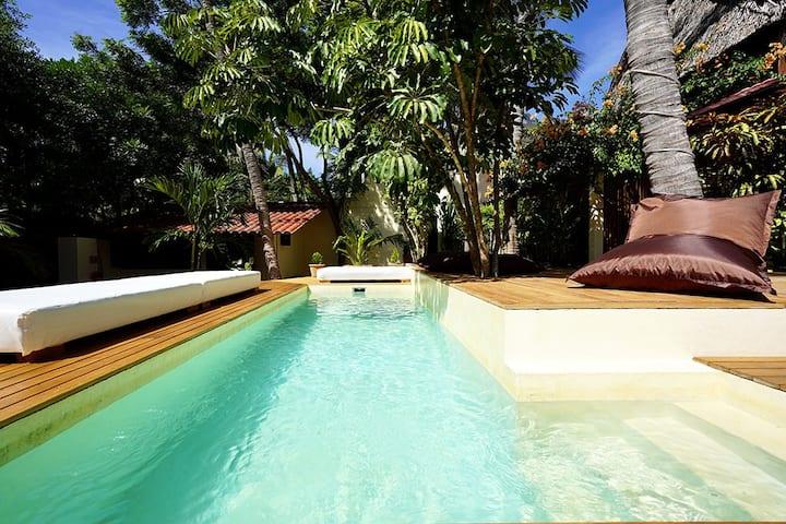 Casa Nudista - Bungalow Standard con aire
