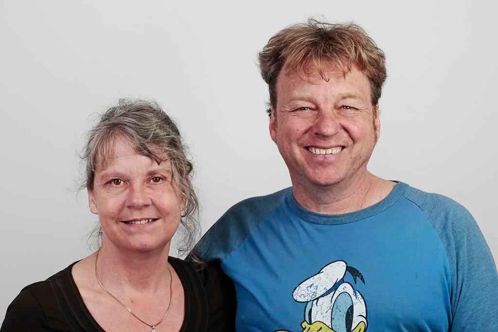 Die Herbergseltern Dominique und Stephan Lutze