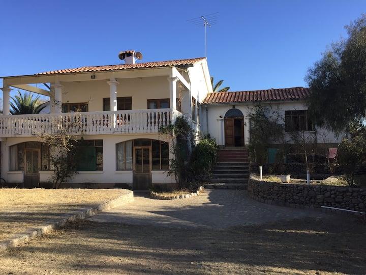 New colonial house hotel Poneloya Tarija Bolivia