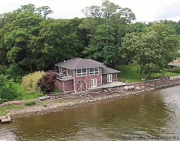 Boathouse on the Hudson - Saugerties - Casa