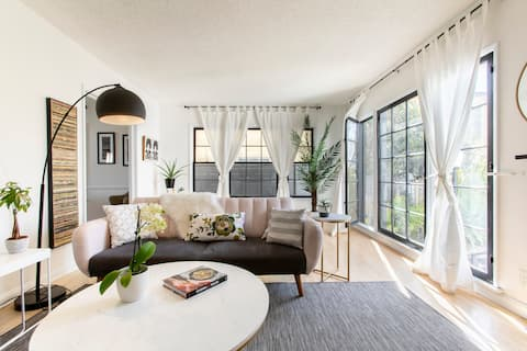 Charming Mid-Century Inspired Apartment