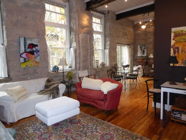 AN ARTIST'S LOFT...Monthly Rental - Wake Forest - Loft