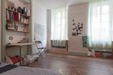 child friendly beetween mountains and Toulouse - Montesquieu-Volvestre - Appartement
