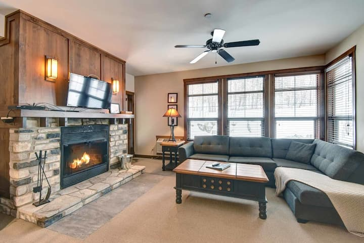 Great Tremblant location with private terrasse
